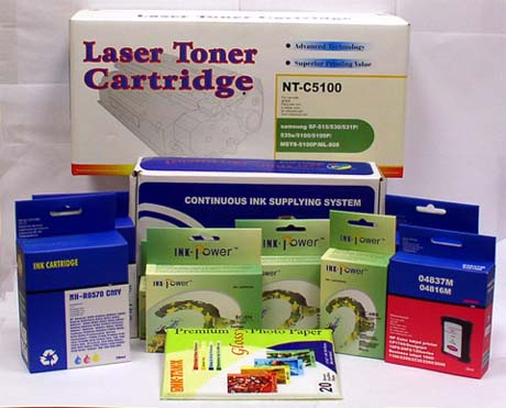 An importer of printer supplies in New York City